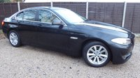 USED 2011 61 BMW 5 SERIES 2.0 520D SE 4dr Sat Nav, Leather, FBMWSH