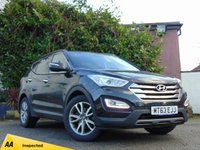 USED 2013 63 HYUNDAI SANTA FE 2.2 PREMIUM CRDI 5d AUTO  **BALANCE OF HYUNDAI WARRANTY**128 POINT AA INSPECTED**
