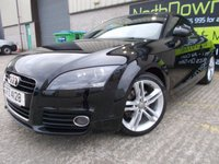 USED 2011 AUDI TT 1.8 TFSI SPORT 2d 160 BHP Excellent Condition, Finance Available, No Deposit Necessary