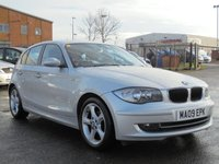 USED 2009 09 BMW 1 SERIES 1.6 116I EDITION ES 5d 121 BHP 12 MONTHS MOT,FULL SERVICE HISTORY, 2 KEYS, EXCELENT CONDITION.