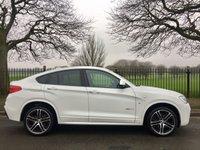 USED 2016 66 BMW X4 3.0 XDRIVE30D M SPORT 4d AUTO 255 BHP
