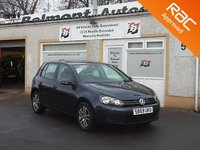 USED 2009 59 VOLKSWAGEN GOLF 1.4 SE TSI DSG 5d 121 BHP 7 Service stamps, Cruise control ,Air conditioning
