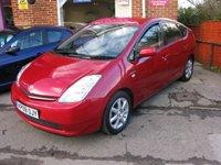 2009 TOYOTA PRIUS 1.5 T3 VVT-I 5d AUTO 77 BHP £SOLD