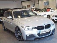 USED 2013 13 BMW 3 SERIES 3.0 330D M SPORT TOURING 5d AUTO 255 BHP M PERFORMANCE KIT+PRO NAV+FSH