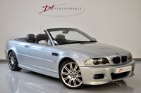 USED 2006 06 BMW M3 3.2 M3 2d 338 BHP E46 MANUAL CABRIOLET GREAT INVESTMENT LAST OWNER 5 YEARS BIG SPEC