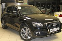 USED 2010 60 AUDI Q5 3.0 TDI QUATTRO S LINE SPECIAL EDITION 5d 240 BHP HALF BLACK LEATHER SPORT SEATS + FULL SERVICE HISTORY + SAT NAV + BLUETOOTH + ELECTRIC TAILGATE + BANG AND OLUFSEN SOUND SYSTEM + 19 INCH ALLOYS + XENON HEADLIGHTS + DAB RADIO + ELECTRIC FRONT SEATS + REAR PARKING SENSORS