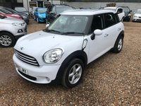 2012 MINI COUNTRYMAN 1.6 ONE D 5d 90 BHP £8000.00