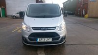 USED 2013 13 FORD TRANSIT CUSTOM 2.2 310 TREND LR DCB 1d 124 BHP 1 OWNER F/S/H 6 SEATER   2 KEYS //// FREE 12 MONTHS WARRANTY COVER ///