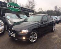 2014 BMW 3 SERIES 2.0 316D SPORT 4d 114 BHP £12489.00