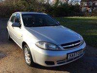 2007 CHEVROLET LACETTI 1.6 SX 5d AUTO 108 BHP £1490.00