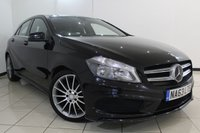 USED 2013 63 MERCEDES-BENZ A CLASS 1.5 A180 CDI BLUEEFFICIENCY AMG SPORT 5DR 109 BHP SERVICE HISTORY + HALF LEATHER SEATS + BLUETOOTH + CRUISE CONTROL + MULTI FUNCTION WHEEL + 18 INCH ALLOY WHEELS