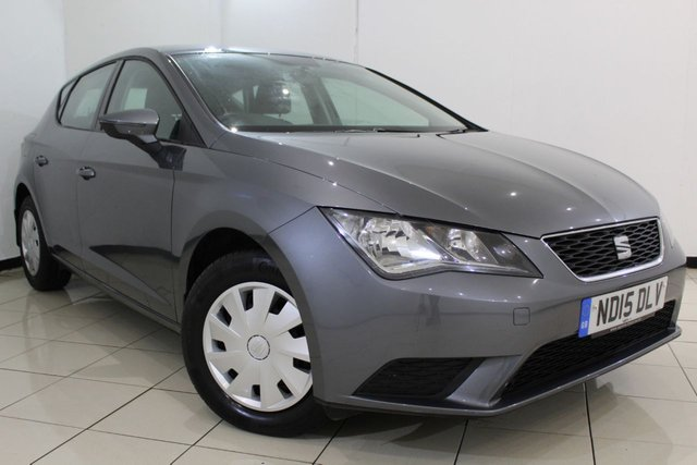 View our 2015 15 SEAT LEON 1.6 TDI S 5DR 110 BHP