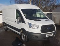 2015 FORD TRANSIT  350 2.2 125 BHP H/R RWD L3 H2 ***70 VANS IN STOCK*** £10850.00