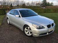 USED 2005 55 BMW 5 SERIES 3.0 535D SE 4d AUTO 269 BHP Full BMW And Specialist History RARE 535! Full BMW And Specialist Service History, MOT 05/19, Recent Service + Swirl Flaps Removed, Full Black Leather Interior, Auto Lights On, Auto Wipers, Cruise Control, Dimming Mirror, Smooth Drive, Blistering Performance, Full Carpet Mat Set, Front And Rear Parking Sensors, Cd/Stereo, Electric Comfort Seats, X2 Keys, Fully Valeted Ready To Go!!