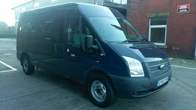 2012 62 FORD TRANSIT 22 350 14 STR 1d 134 BHP 1 OWNER SEATER F S H LOW MILES