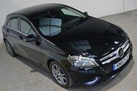 2015 MERCEDES-BENZ A CLASS 1.6 A180 BLUEEFFICIENCY SPORT 5d AUTO 122 BHP £14500.00