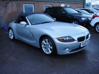 USED 2005 55 BMW Z4 2.0 Z4 SE ROADSTER 2d 148 BHP ANY PART EXCHANGE WELCOME, COUNTRY WIDE DELIVERY ARRANGED, HUGE SPEC