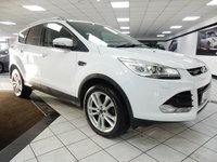 USED 2013 13 FORD KUGA 2.0 TDCI 163 TITANIUM X POWERSHIFT PAN ROOF FORD HISTORY BLK LTHR