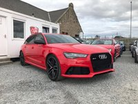 USED 2016 16 AUDI RS6 AVANT Quattro Tip Auto 4.0 TFSI V8 5dr ( 560 bhp ) One Owner Low Mileage Dynamic Pack Big Spec Example £13k Extras