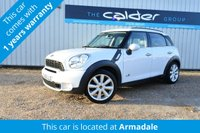 2013 MINI COUNTRYMAN 2.0 COOPER SD ALL4 5d 141 BHP £11450.00