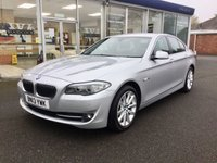 USED 2013 13 BMW 5 SERIES 2.0 520D SE 4DR AUTO PROFESSIONAL SAT NAV FULL LEATHER,HEATED SEATS 181 BHP