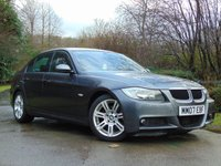 USED 2007 07 BMW 3 SERIES 2.0 320D M SPORT 4d 161 BHP FULL LEATHER, FULL SERVICE HISTORY