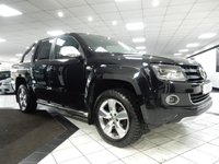 USED 2015 15 VOLKSWAGEN AMAROK 2.0 BiTDI ULTIMATE 4MOTION AUTO 180 BHP ROLL TOP RNS510 SAT NAV VWSH