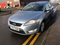 USED 2007 57 FORD MONDEO 2.0 EDGE TDCI 5d 140 BHP