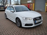 USED 2014 14 AUDI S3 2.0 S3 SPORTBACK QUATTRO 5d 296 BHP ANY PART EXCHANGE WELCOME, COUNTRY WIDE DELIVERY ARRANGED
