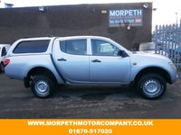 USED 2006 06 MITSUBISHI L200 2.5 4WORK LWB DCB 4WD 1d 135 BHP ***REAR CANOPY FITTED-NO VAT***