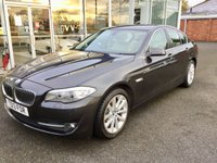 2013 BMW 5 SERIES 2.0 520D SE 4DR SALOON BUSINESS SAT NAV/LEATHER HEATED SEATS AUTO 181 BHP £13880.00