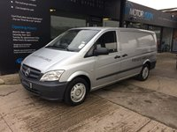 2011 MERCEDES-BENZ VITO 2.1 110 CDI 1d 95 BHP PRIVATE AMBULANCE FUNERAL VEHICLE REMOVAL/ HEARSE + VAT £7995.00