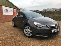 2014 VAUXHALL ASTRA 1.4 GTC SPORT 3d AUTO 138 BHP Only 10k miles £8495.00
