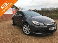 2014 VAUXHALL ASTRA 1.4 GTC SPORT 3d AUTO 138 BHP Only 10k miles £8250.00