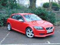 USED 2007 57 VOLVO C30 1.6 D SPORT 3d 110 BHP FULL LEATHER INTERIOR, FULL SERVICE HISTORY