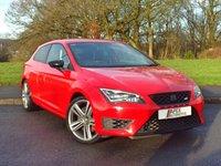 2014 SEAT LEON 2.0 TSI CUPRA 280 DSG 3d AUTO 276 BHP £16995.00