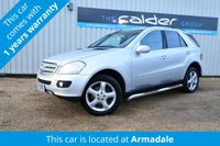 USED 2007 07 MERCEDES-BENZ M CLASS 3.0 ML280 CDI EDITION S 5d 188 BHP