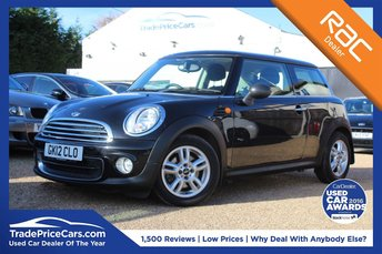 2012 MINI HATCH ONE}