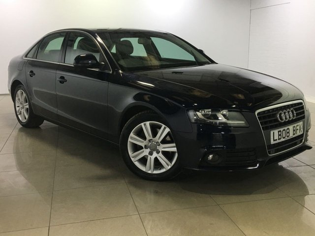 View our 2008 08 AUDI A4 2.7 TDI SE 4d 187 BHP