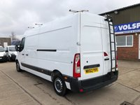 USED 2012 62 RENAULT MASTER 2.3 LM35 L3 H2 LWB MED ROOF 125ps **WINDOW CLEANER VAN**