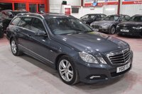 2010 MERCEDES-BENZ E CLASS 3.0 E350 CDI BLUEEFFICIENCY AVANTGARDE 5d AUTO 231 BHP £12595.00