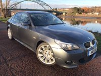 USED 2008 58 BMW 5 SERIES 3.0 525D M SPORT 4d AUTO 195 BHP **OVER £8K WORTH OPTIONS**