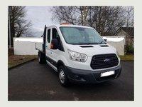 2015 FORD TRANSIT 350 LWB D/Cab tipper 125ps £15495.00