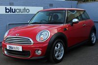 2011 MINI HATCH ONE 1.6 ONE 3d 98 BHP £5950.00