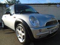 2002 MINI HATCH ONE 1.6 ONE 3d 89 BHP £SOLD
