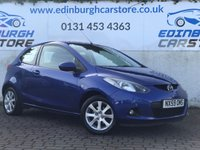 USED 2009 59 MAZDA 2 1.4 TS2 D 3d 67 BHP PRICE INCLUDES A 6 MONTH RAC WARRANTY, 1 YEARS MOT WITH 12 MONTHS FREE BREAKDOWN COVER