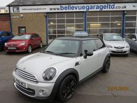 2011 MINI HATCH COOPER 1.6 COOPER SOHO 3d 120 BHP £7995.00