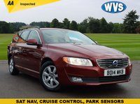 2014 VOLVO V70 1.6 D2 BUSINESS EDITION 5d 113 BHP £10899.00