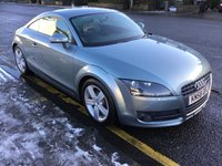 USED 2008 58 AUDI TT 2.0 TFSI 3d 200 BHP PRICE INCLUDES A 6 MONTH AA WARRANTY DEALER CARE EXTENDED GUARANTEE, 1 YEARS MOT AND A OIL & FILTERS SERVICE. 6 MONTHS FREE BREAKDOWN COVER.