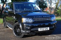 USED 2012 12 LAND ROVER RANGE ROVER SPORT 3.0 SDV6 HSE AUTO [255 BHP]